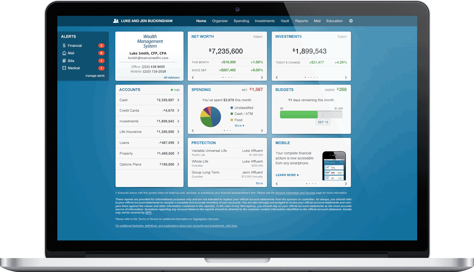 clienttools-dashboard