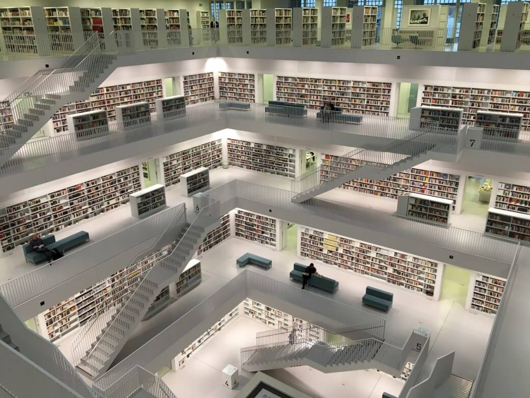 library-white